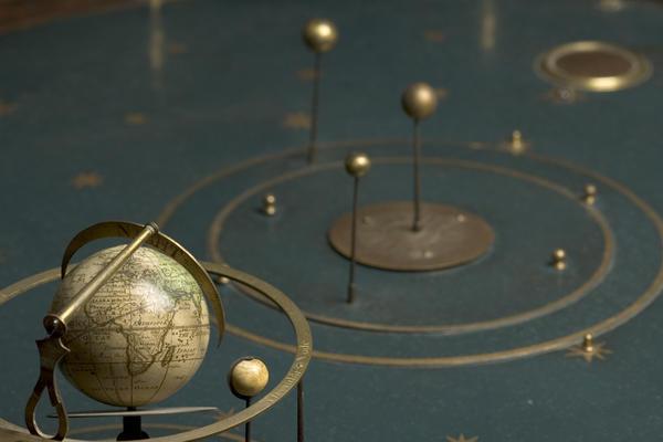 35757 terrestrial globe signed by richard cushee london c