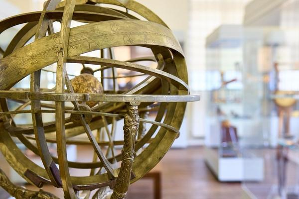 Armillary Sphere (70229) in the Top Gallery, History of Science Museum, University of Oxford (Photo by Ian Wallman)