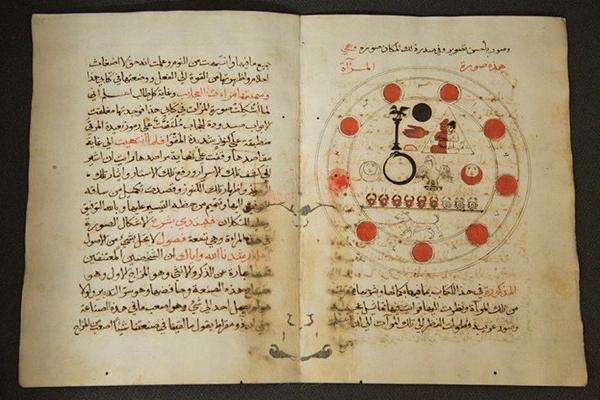 [Anon.], Mirror of Wonders and Goal of Every Seeker in the Art of Medicine, folios 124v and 125r