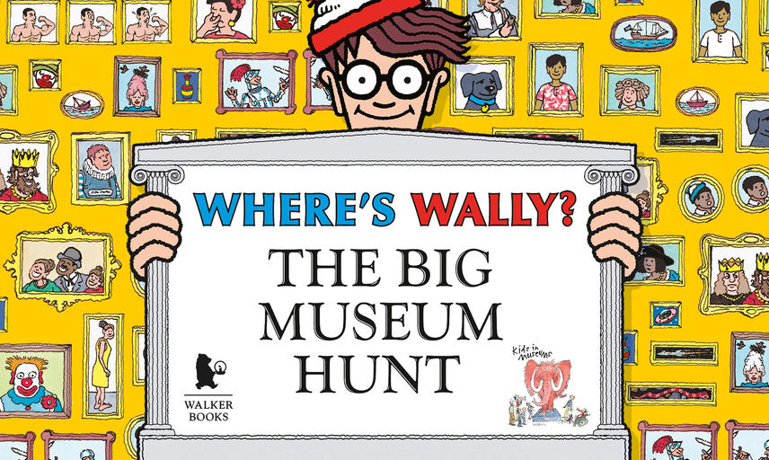 wheres wally big museum hunt banner for museums