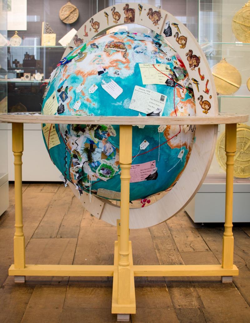 renaissance globe exhibition mnh