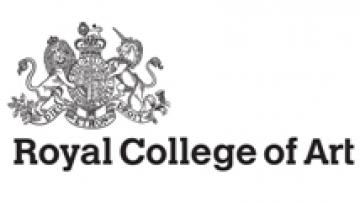 Royal College of Art logo showing crest and motto