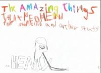 "Henry's poster for ""The Amazing Things"" exhibition"